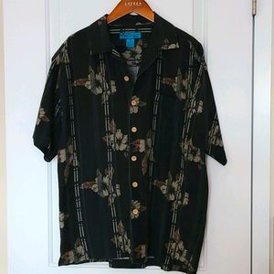 Hawaiian Shirt Paradise Blue Medium